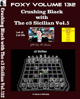 Volume 0132: Crushing Black with The c3 Sicilian Vol5