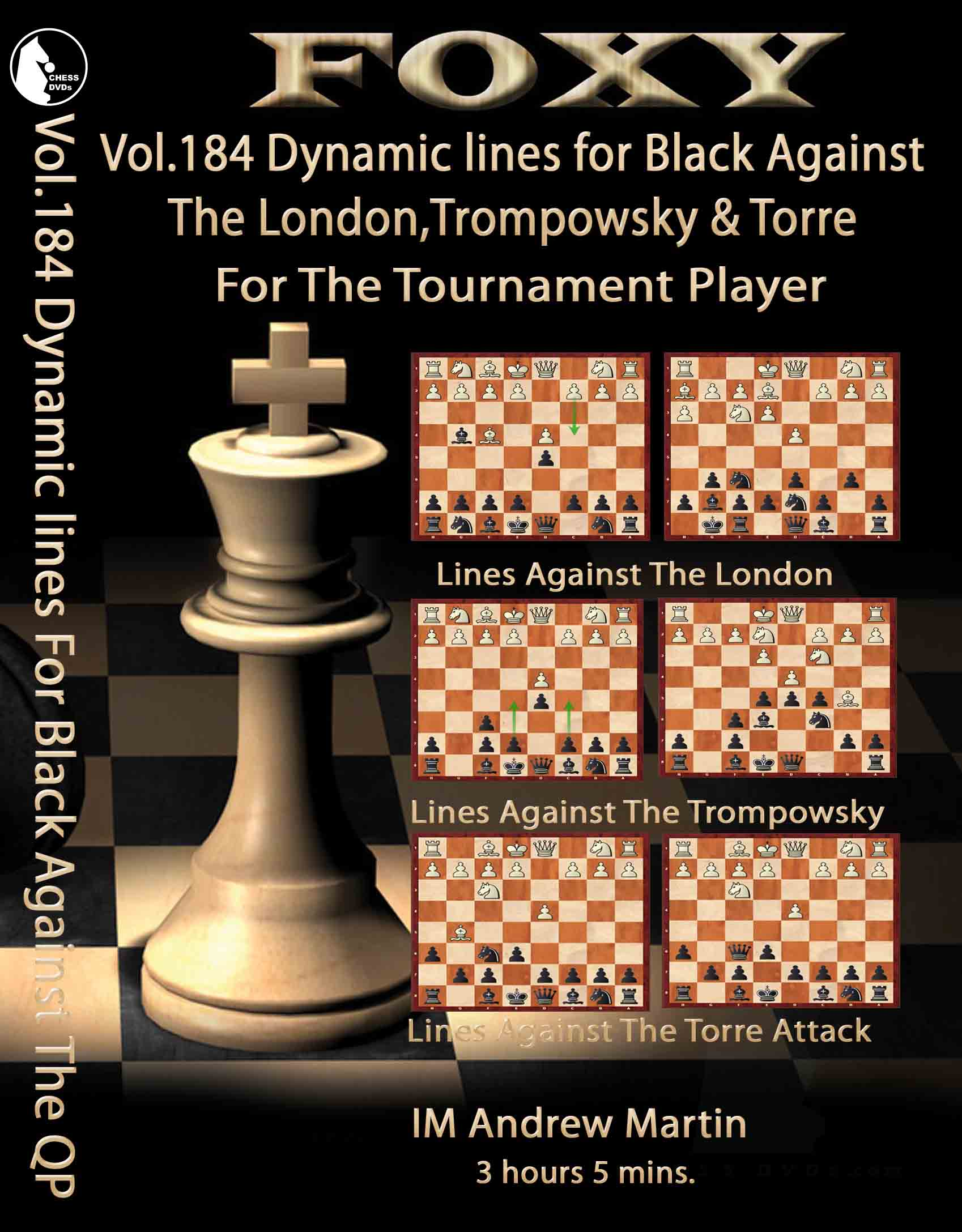 Volume 0184: Dynamic Lines Black Against The London, Trompowsky