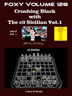 Volume 0128: Crushing Black with The c3 Sicilian Vol1