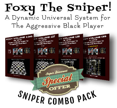 Foxy 0136-0139 The SNIPER! Combo