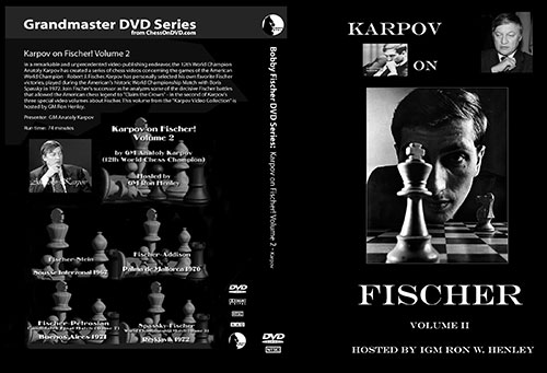 Bobby Fischer DVD Collection Karpov on Fischer Vol. 2