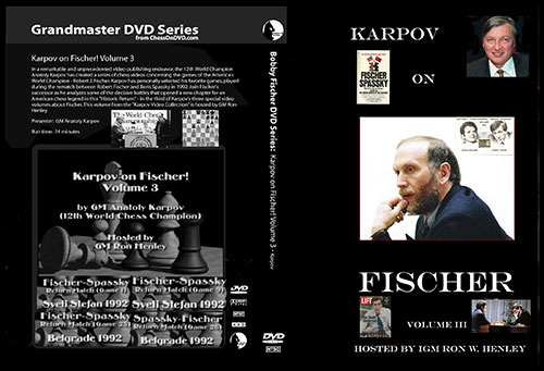 Bobby Fischer DVD Collection Karpov on Fischer Vol. 3