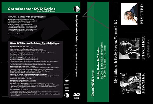 Bobby Fischer DVD Collection My Battles with Fischer Part 1 & 2