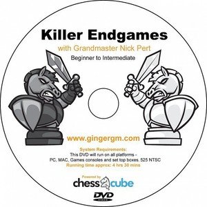 Killer Endgames Part 1&2 with GM Nick Pert (Available on Dvd Onl
