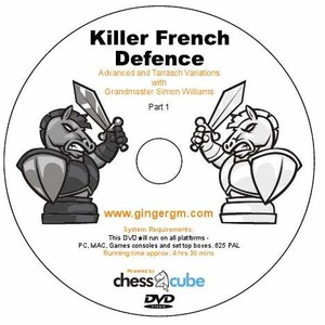 Killer French with GM Simon Williams (Available only on Dvd)