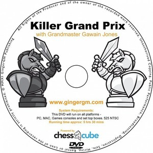 Killer Grand Prix with GM Gawain Jones (Available only on DVd)