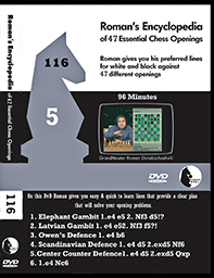 Volume 0116r of 47 Essential Chess Opening