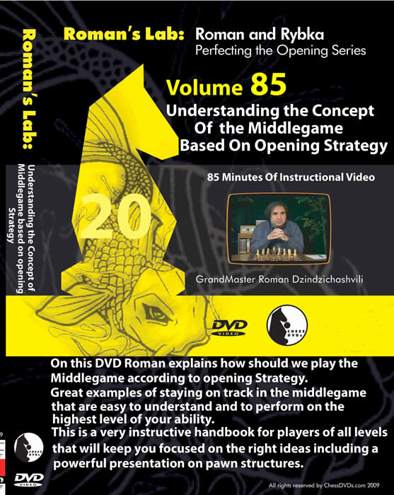 Volume 0085r: Understanding The ConCept Of the Middlegame Based